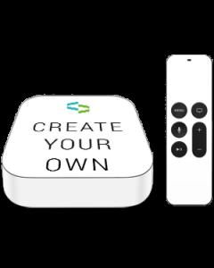 Custom Apple TV - Box + Remote (2017) Skin