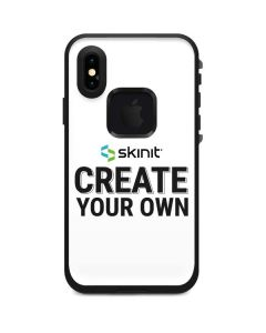 Custom LifeProof Fre iPhone XS Skin